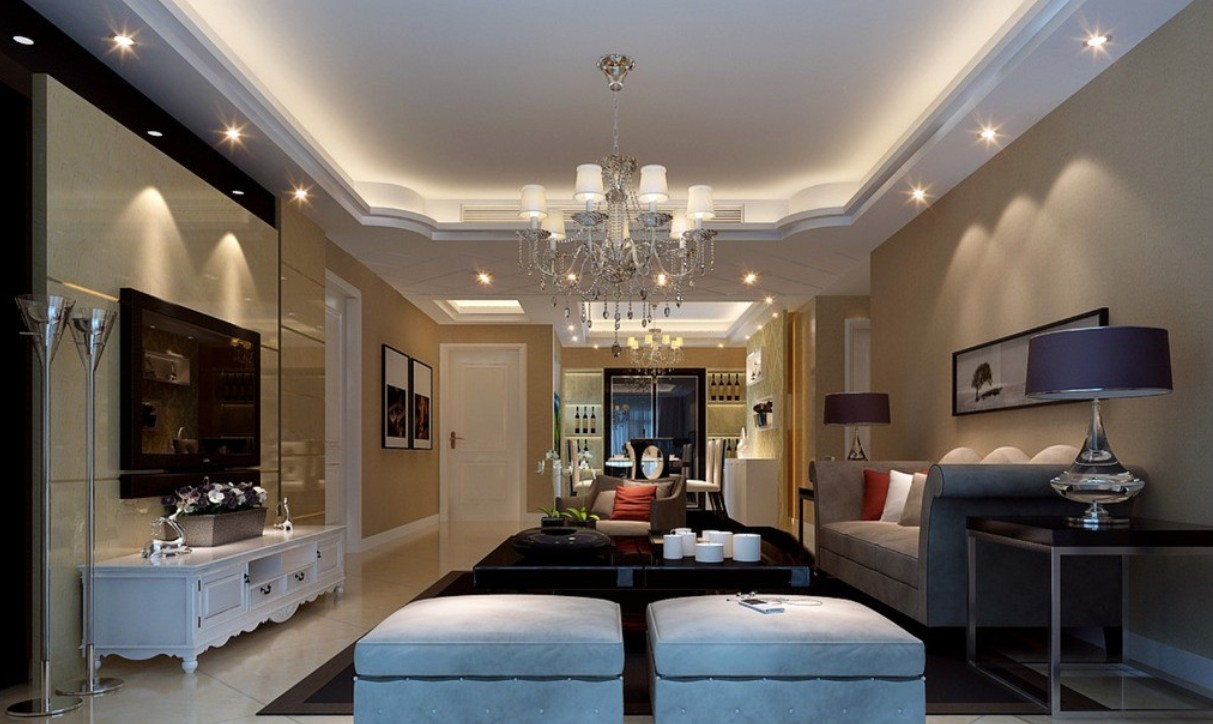 Galerry design living room lighting