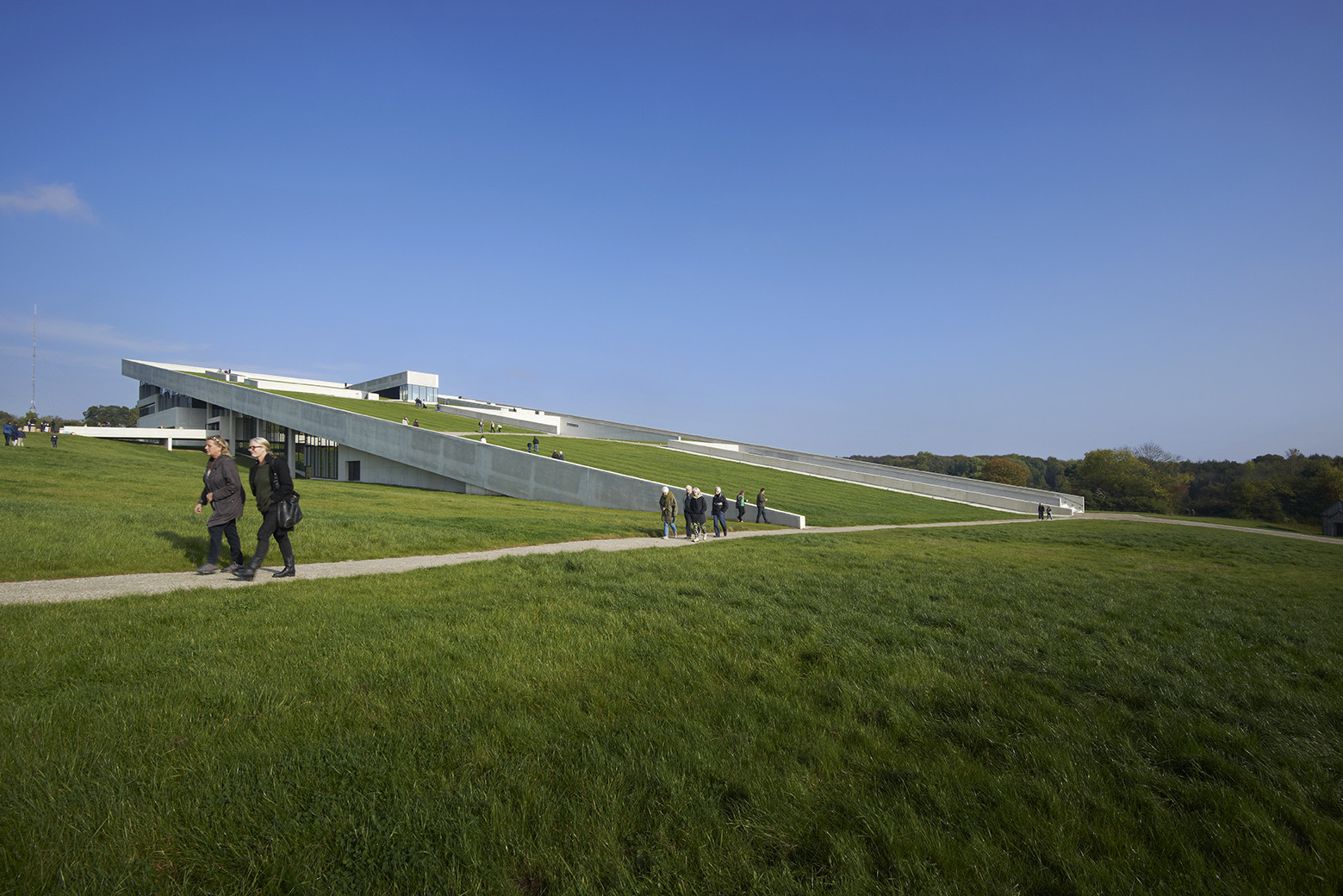 Grass Covered Sloping Roof Allarchitecturedesigns