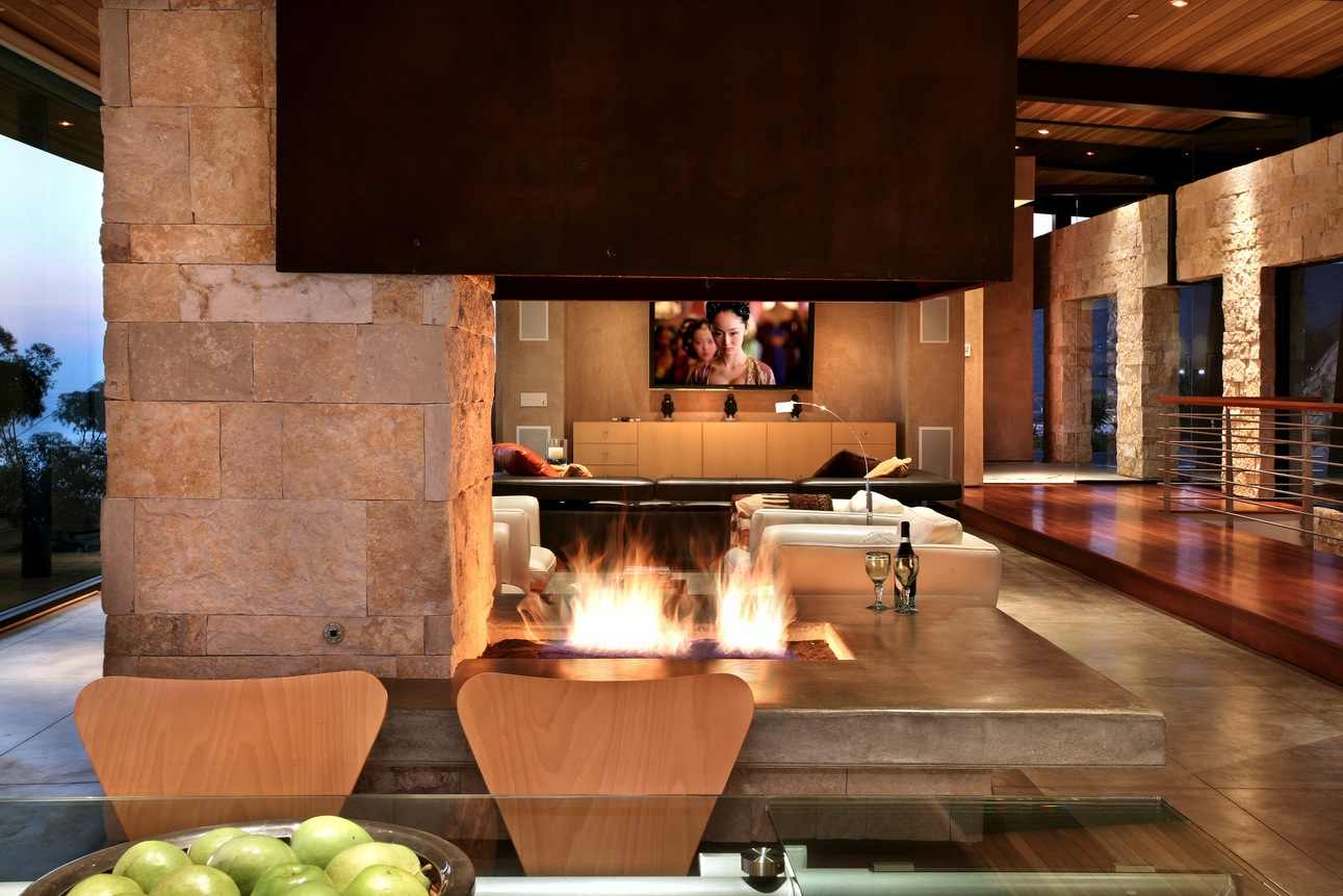 stylish living rooms with elegant fireplaces all architecture