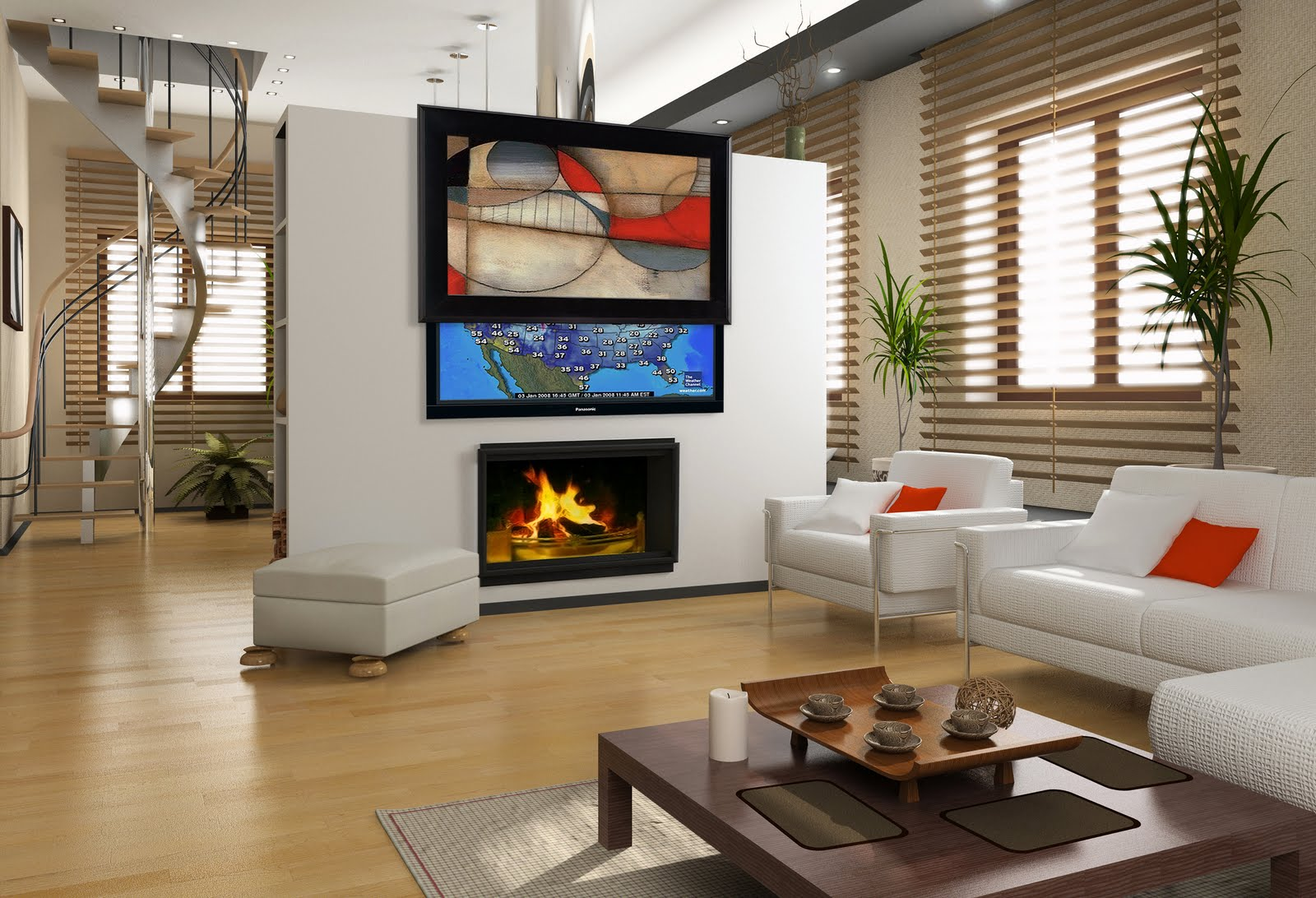 Living Rooms With Stunning Tv Solutions All Ture Designs. Living Room Setup With No Tv   Bohlerint com