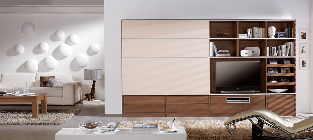 Living rooms with stunning TV solutions ...