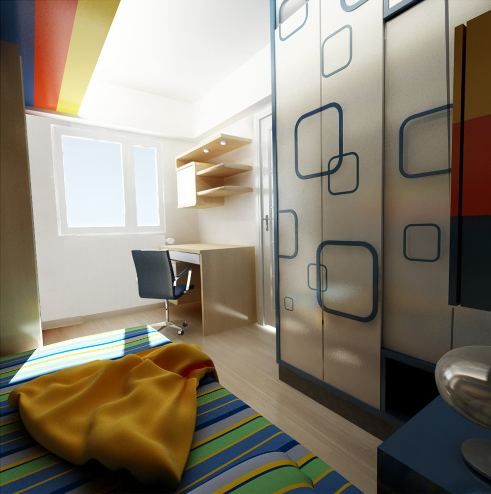 Colorful Rooms 07
