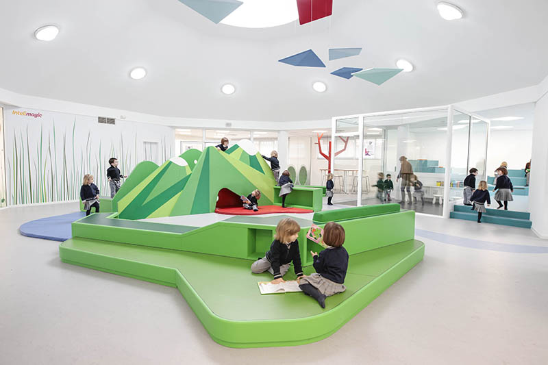 Innovative Classroom Layouts : Innovative preschool design for st century learners