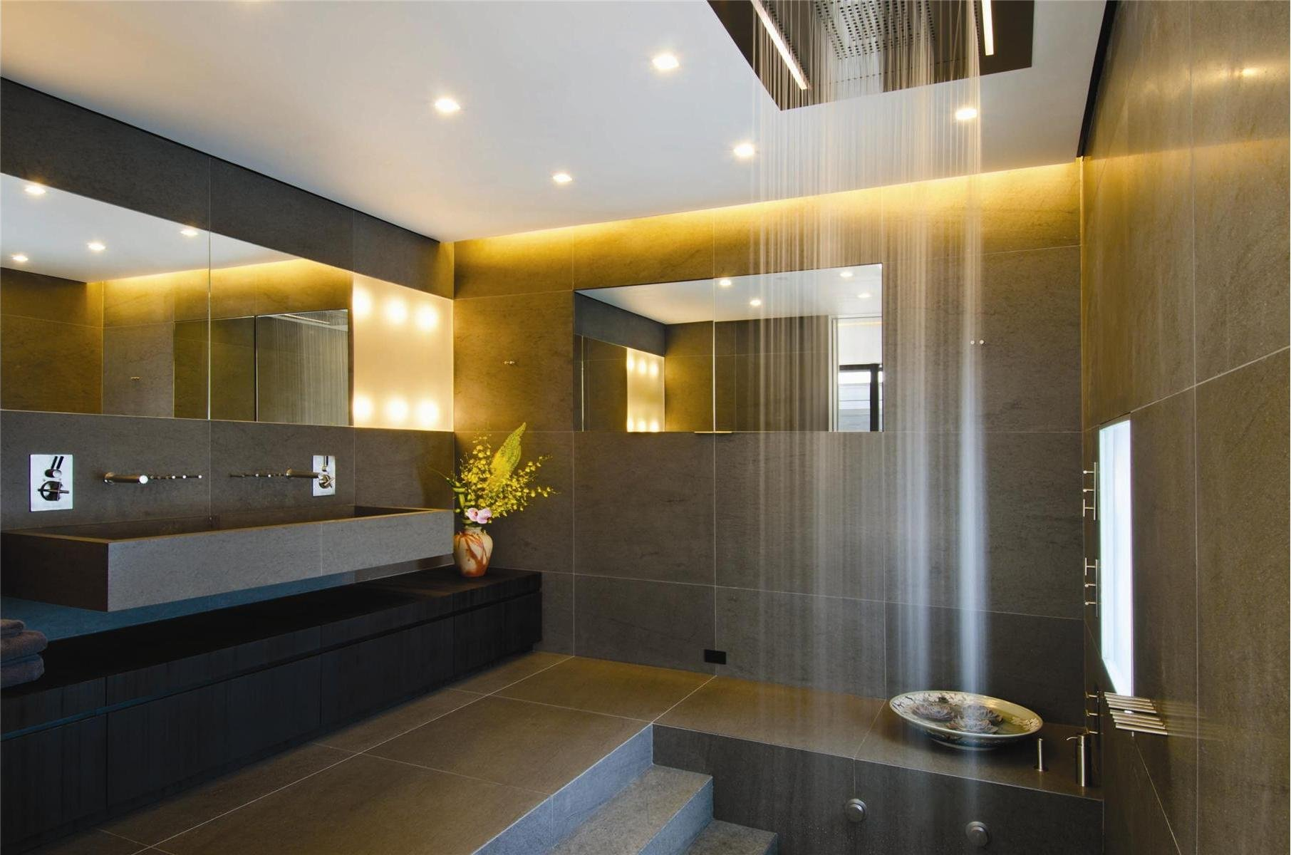 Bathroom rain showers - Beautiful Rain Shower