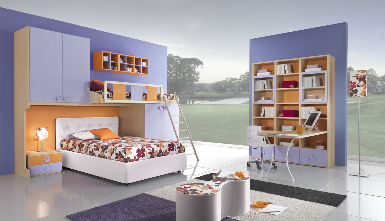 Amazing Teen Bedrooms With Stylish Library