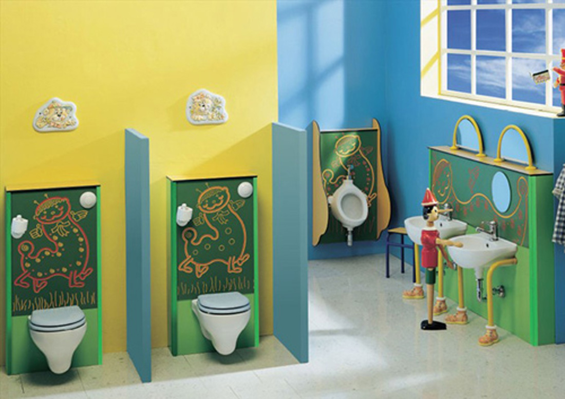 Awesome kids bathrooms - 13 U0026middot 14 U0026middot Kids Bathroom Colors