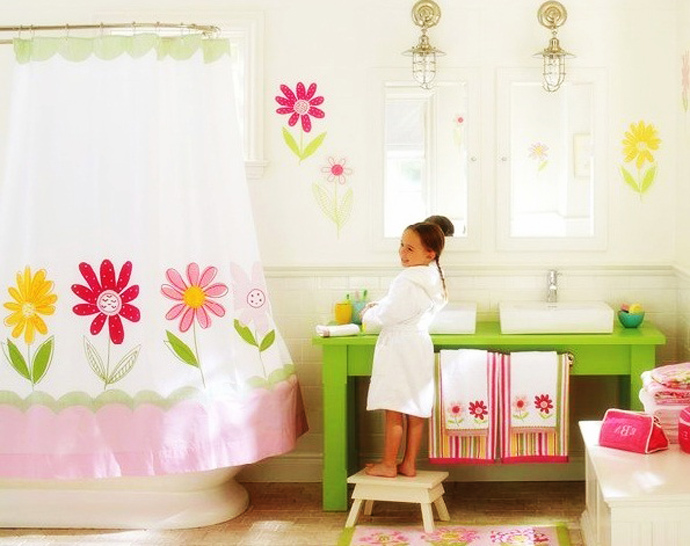 20 Colorful Kids Bathrooms - Allarchitecturedesigns