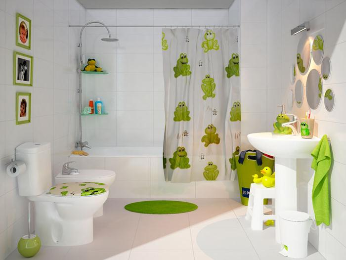 20 colorful kids bathrooms allarchitecturedesigns for Kids bathroom accessories