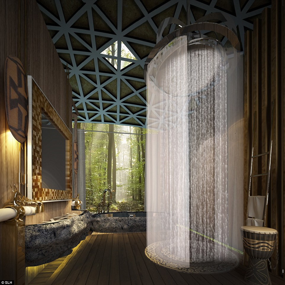 Beautiful Rain Shower - AllArchitectureDesigns