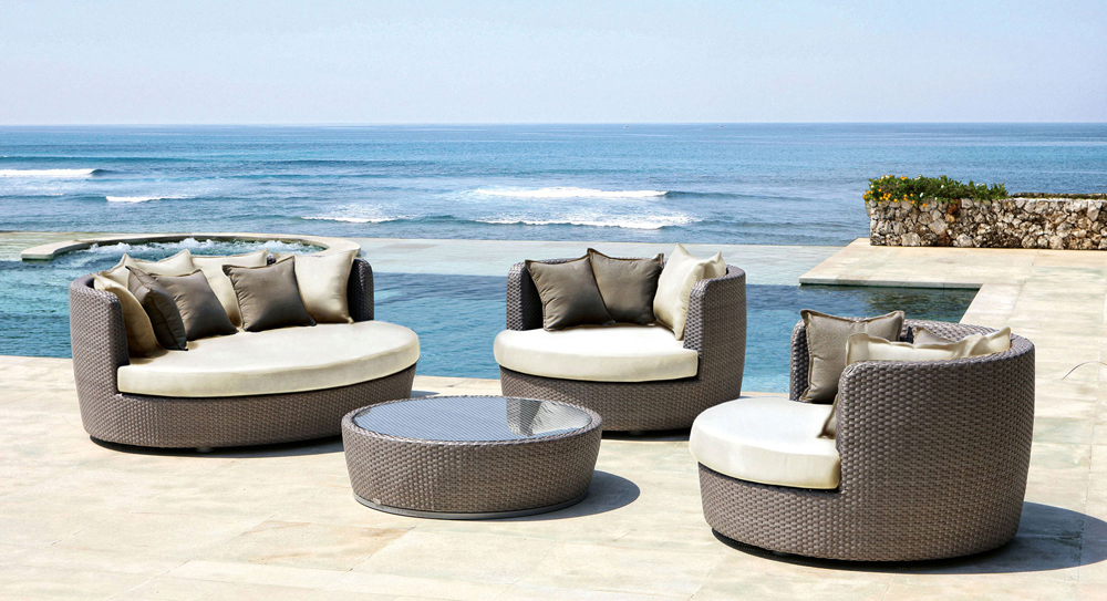 Modern Outdoor Furniture Will Easily Increase The Benefit Of Your House,  Moreover If It Is Used To Decorate Your House Exterior. You Will Know That  A House ...