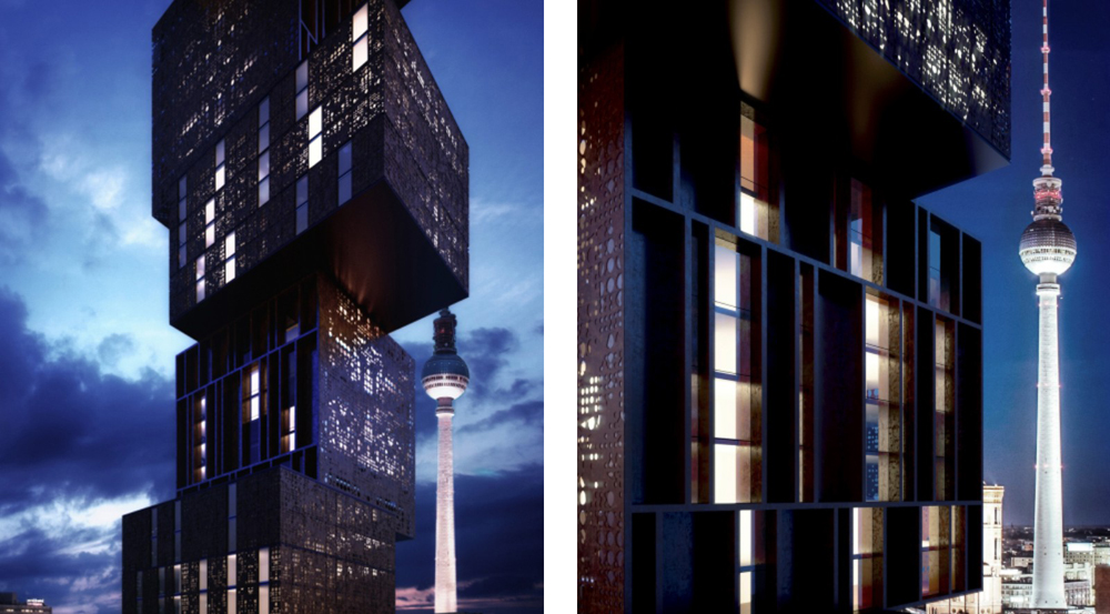 Stylish and luxury hotel in berlin by ferminnan and for Designer hotel berlin