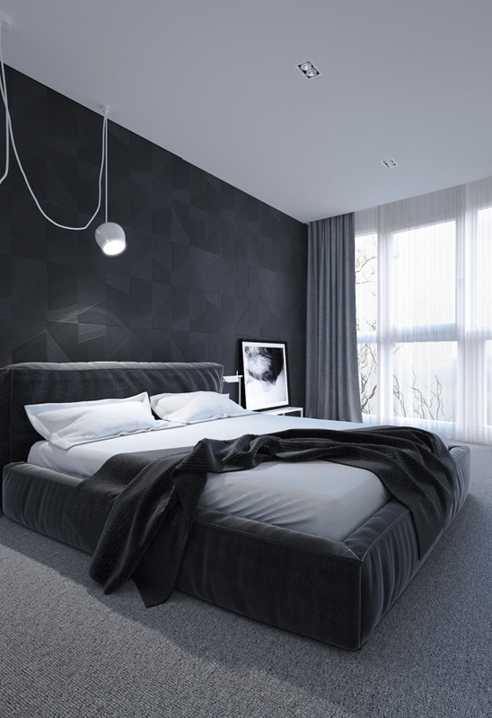 Dark bedrooms designs for sweet dreams for Sweet bedroom designs