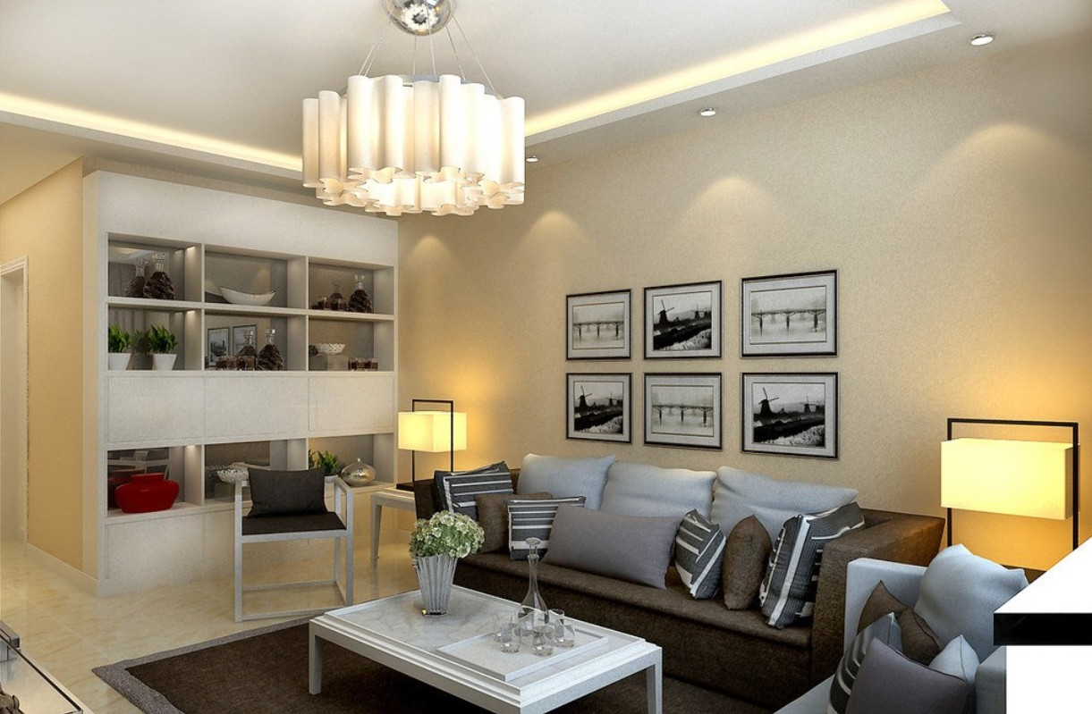Lighting in The Living Room Ideas